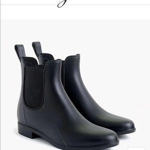 J crew rain booties